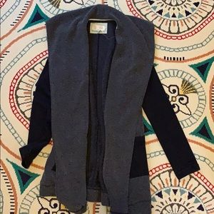 Anthropologie Blue Long Sweater